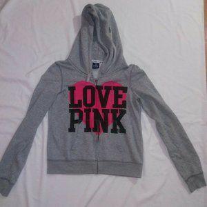 Victoria's Secret Pink Large Love Pink Jacket